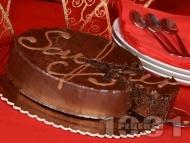 Торта Сахер - класическа рецепта за много вкусна шоколадова торта